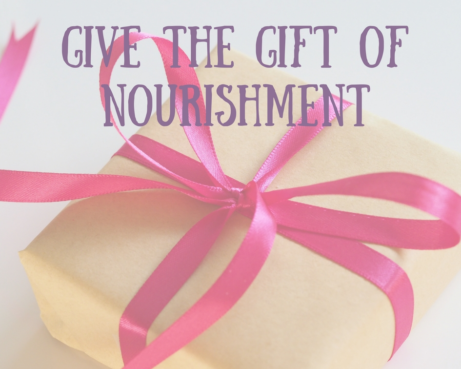GIVE THE GIFT OF NOURISHMENT