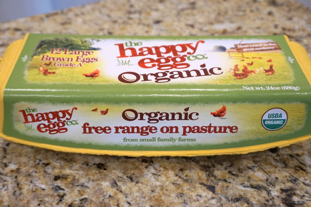 Organic Free Range on Pasture Eggs