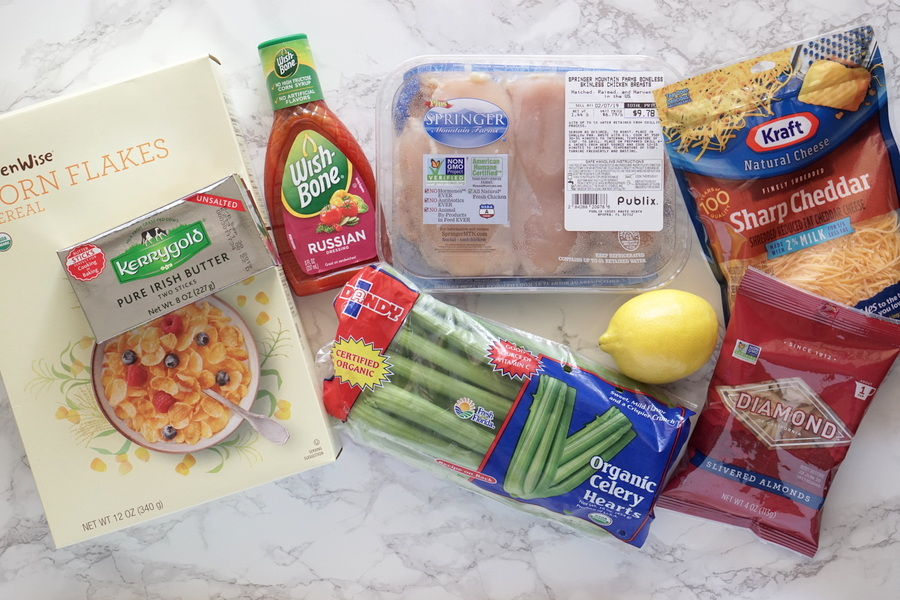 Golden Chicken Casserole Ingredients