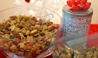 Holiday Spiced Snack Mix