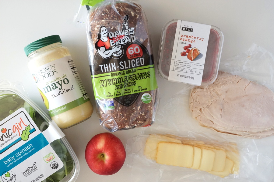 Cranberry Turkey Sandwich Ingredients