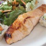 Honey Mustard Broiled Salmon