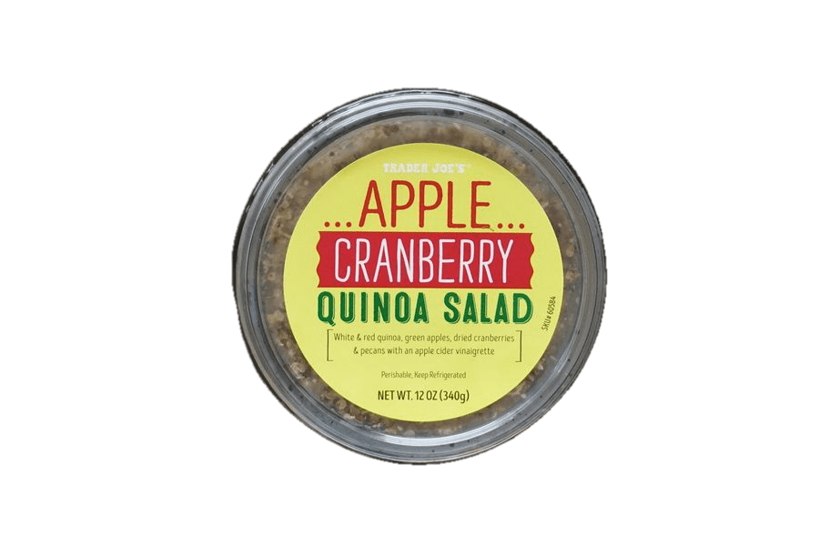 Trader Joe's Apple Cranberry Quinoa Salad