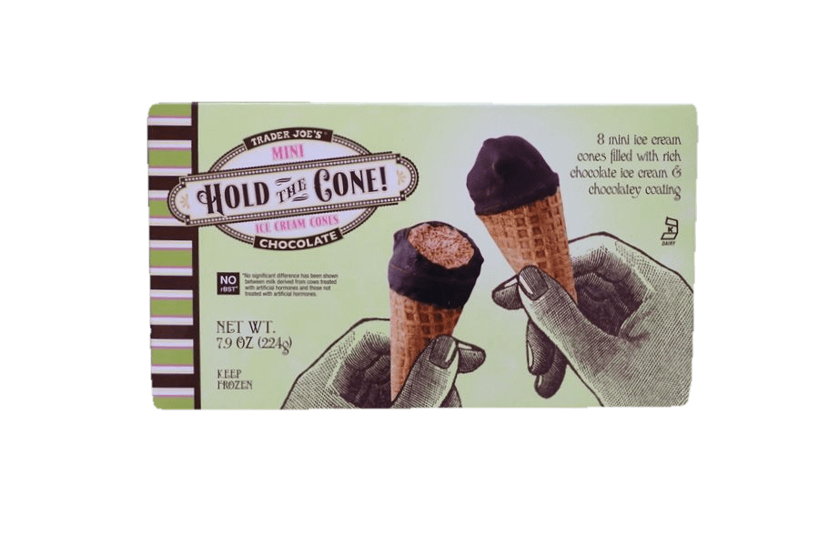 Trader Joe's Mini Hold The Cone!