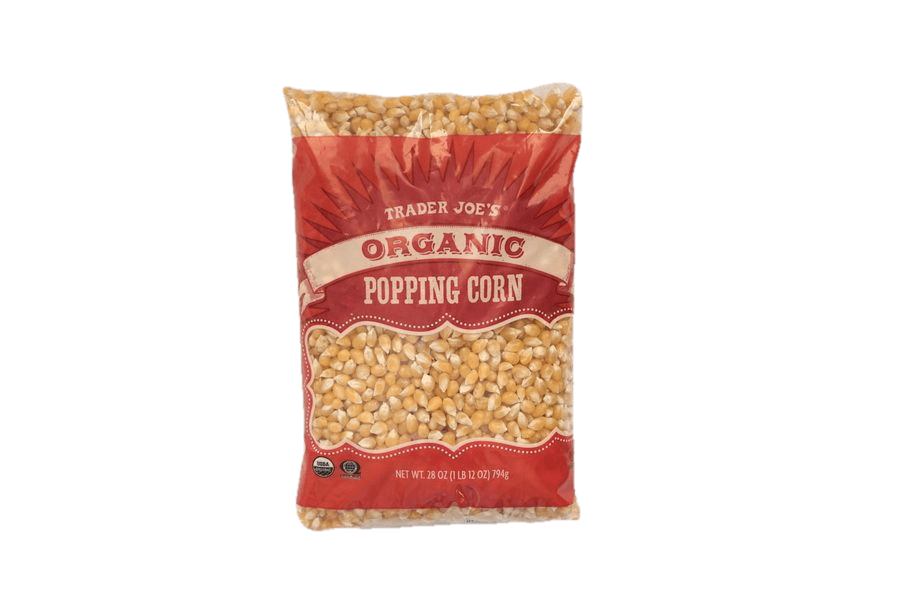 Trader Joe's Organic Popping Corn