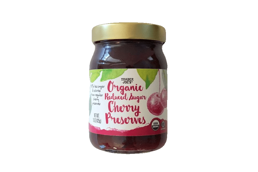 Trader Joe's Organic Reduced Sugar Preserves