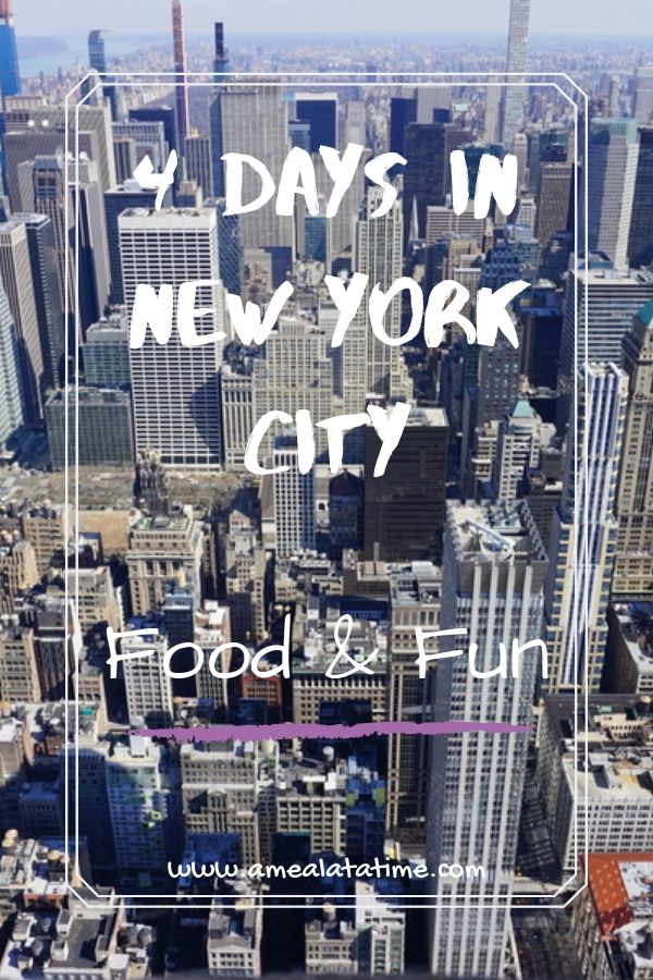 4 Days in New York City