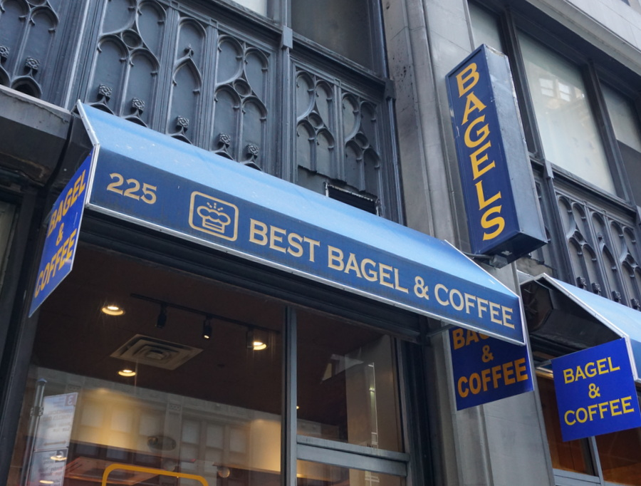 NYC Food Best Bagel and Coffee