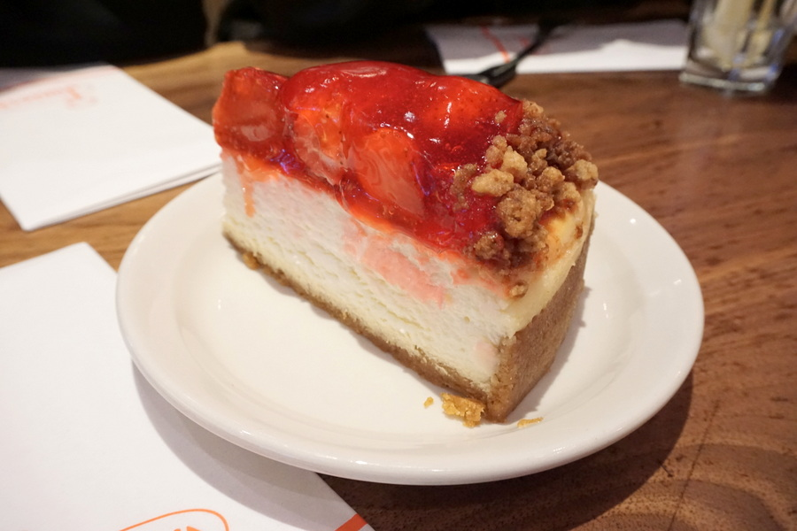 NYC Food Juniors Cheesecake