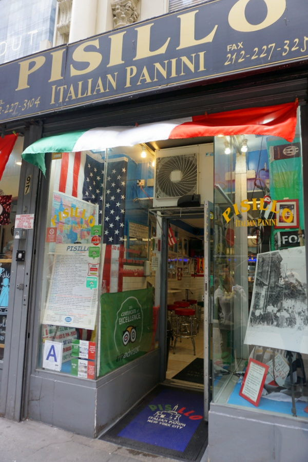 NYC Food Pisillo Italian Panini