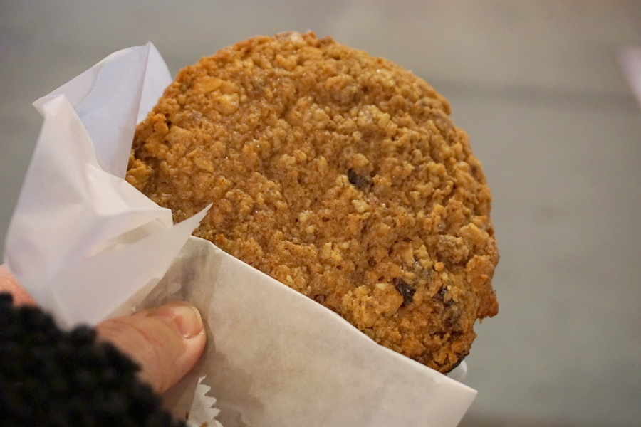 NYC Food Schmakarys Oatmeal Raisin Cookie