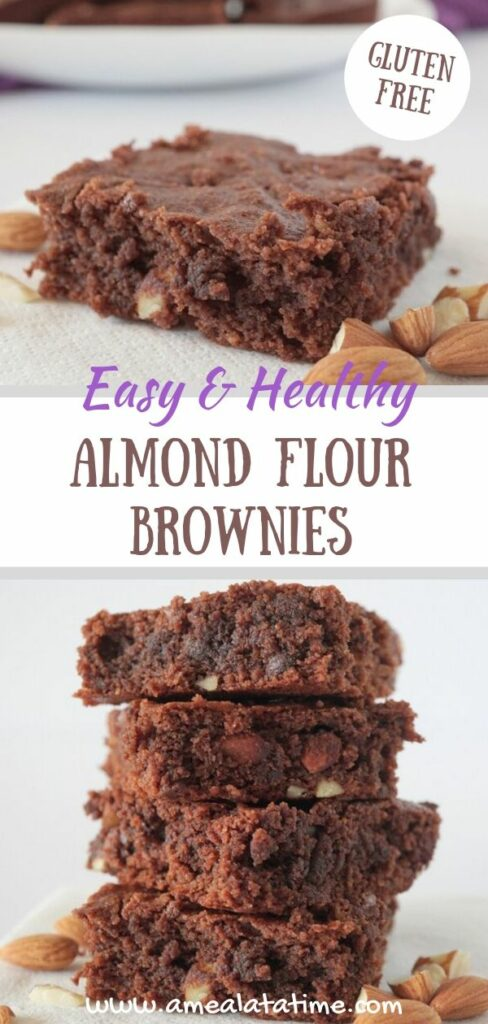 Easy and Healthy Almond Flour Brownies