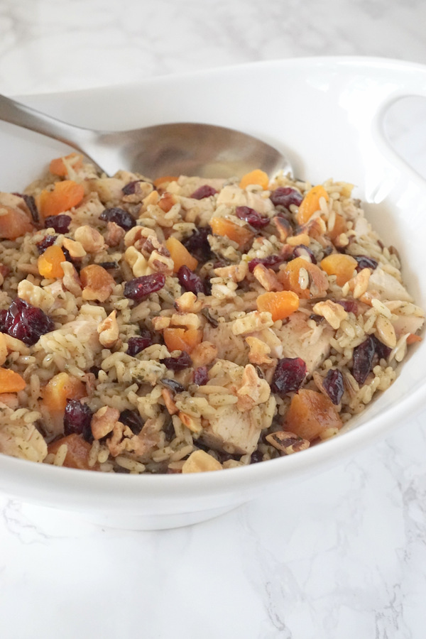 Chicken and Rice Salad with Dried Fruit