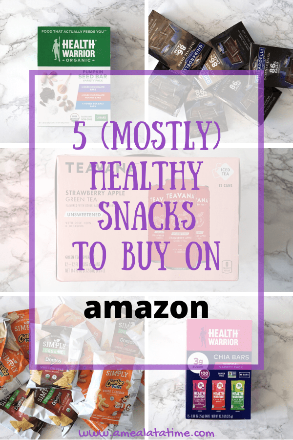 5 Mostly Healthy Snacks To Buy On Amazon