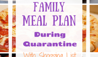 Simple 7-Day Family Meal Plan Vol 1