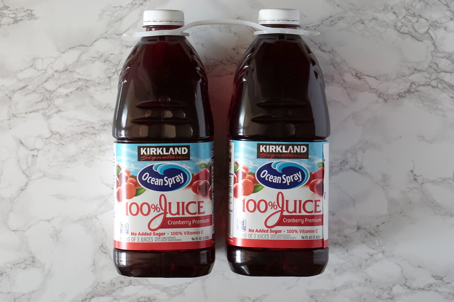 Costco 100% Cranberry Juice