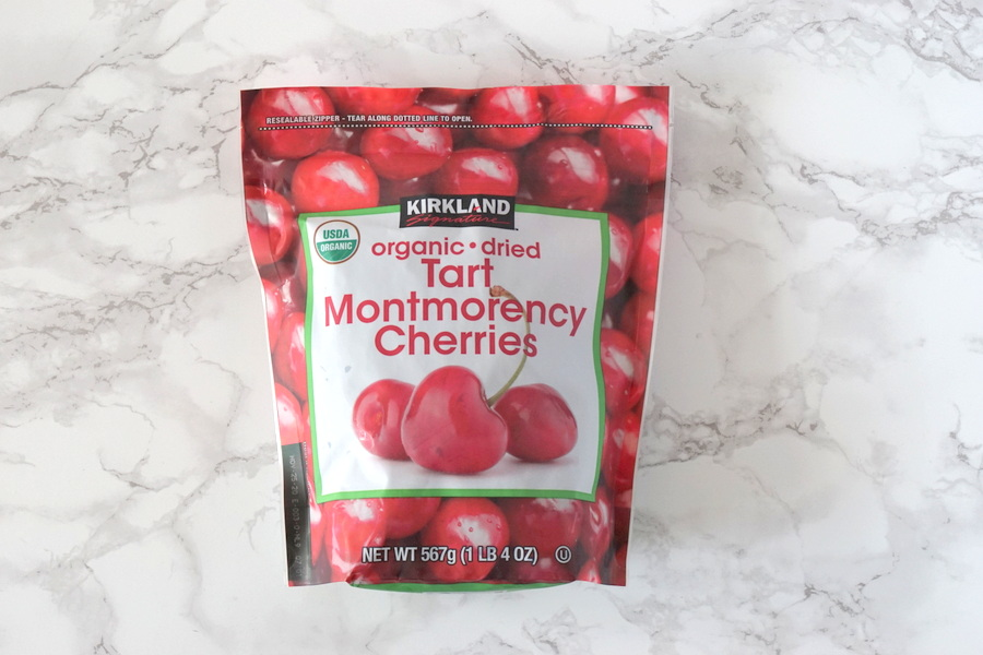 Costco Organic Dried Montmorency Cherries