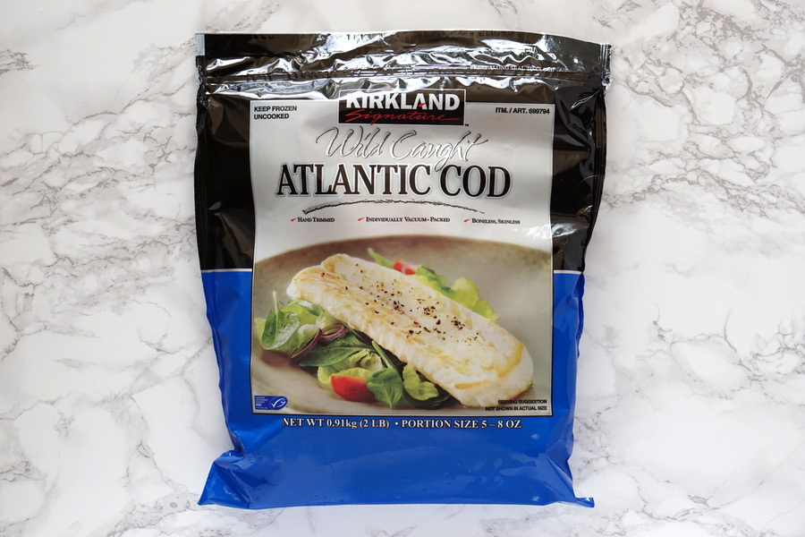 Costco Frozen Wild Caught Atlantic Cod