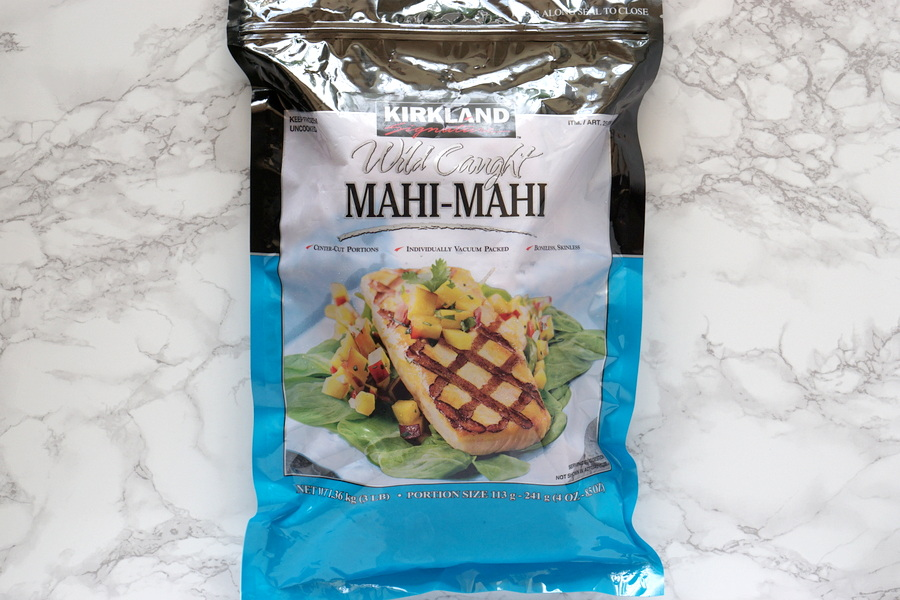 Costco Frozen Wild Caught Mahi-Mahi