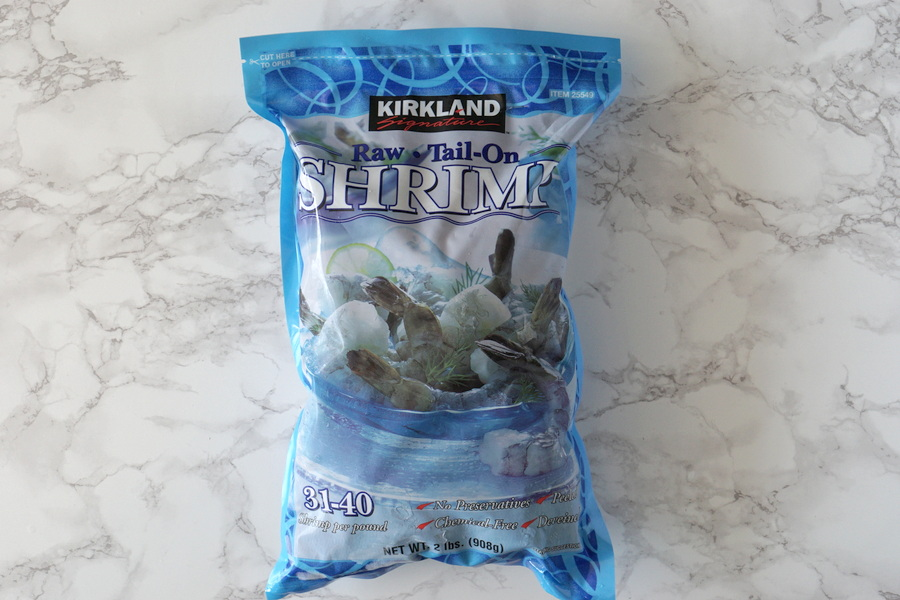 Costco Frozen Raw Shrimp