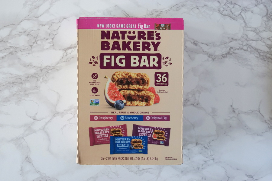 Costco Nature's Bakery Fig Bars