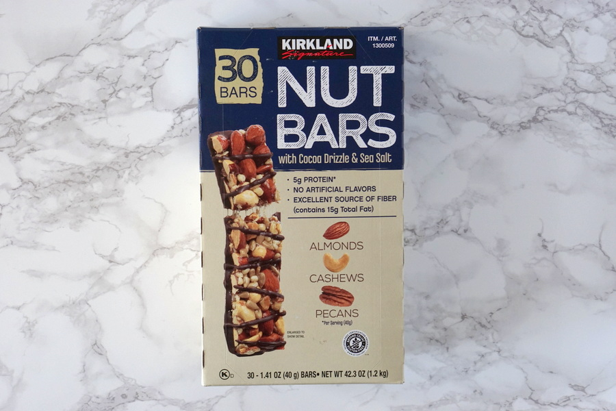 Costco Kirkland Nut Bars