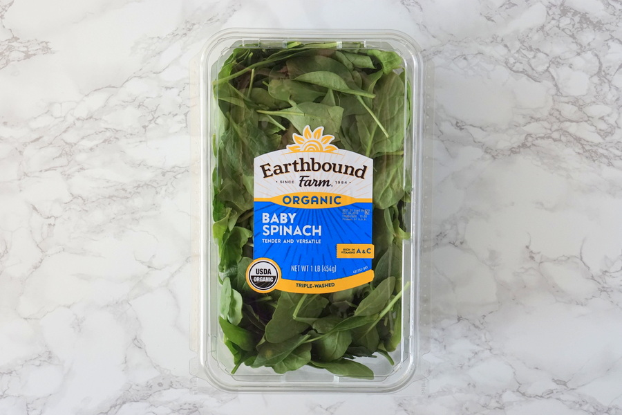 Costco Organic Baby Spinach