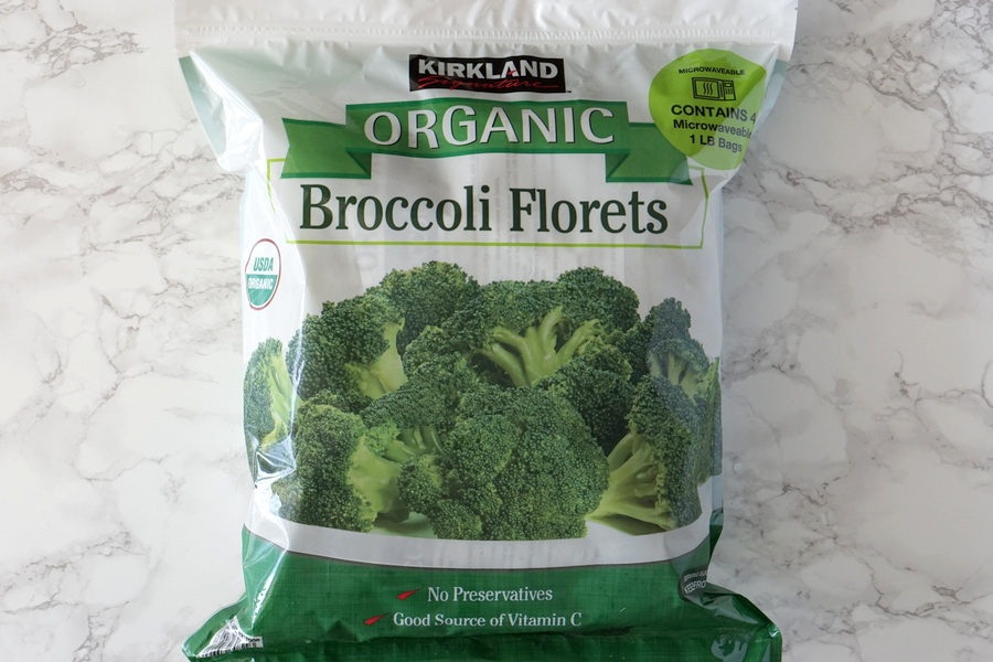 Costco Organic Broccoli Florets