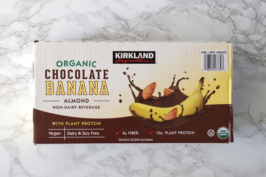 Costco Organic Chocolate Banana Almond Beverage