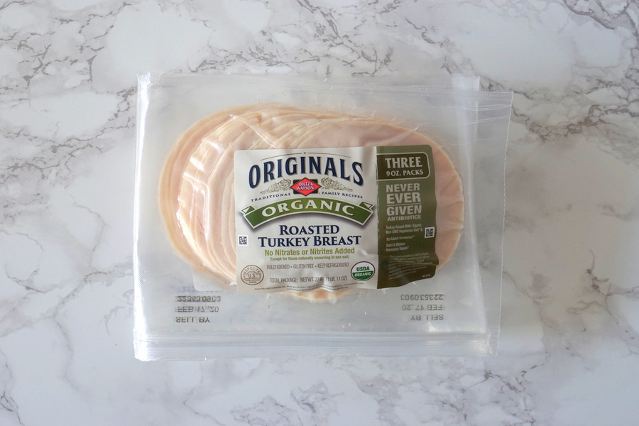 Costco Organic Roasted Turkey Breast Slices