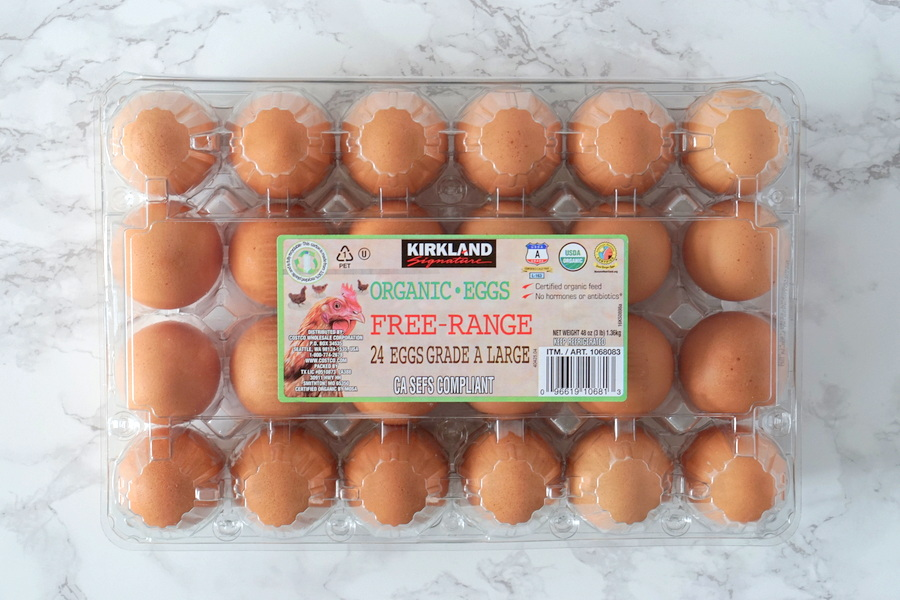 Costco Organic Eggs
