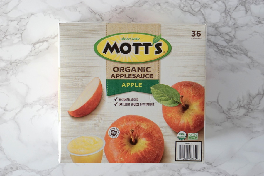 Costco Organic Mott's Applesauce Cups