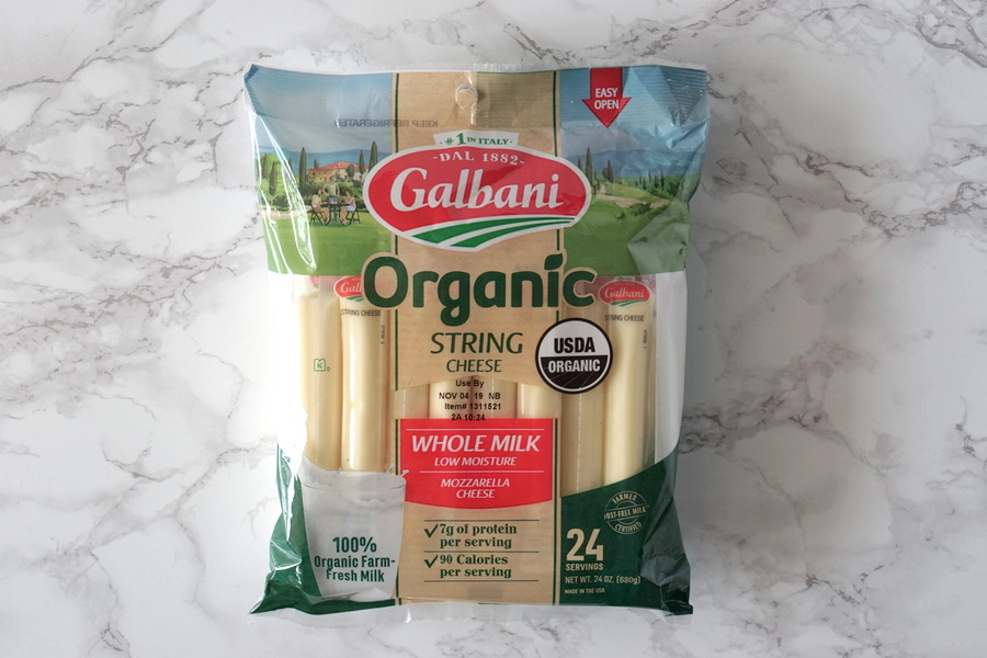 Costco Organic String Cheese