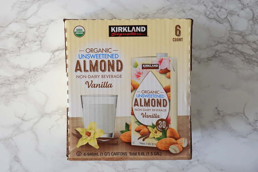 Costco Organic Unsweetened Almond Beverage