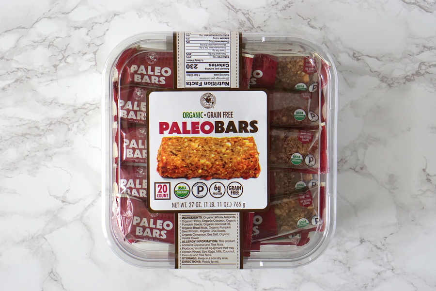 Costco Organic Paleo Bars