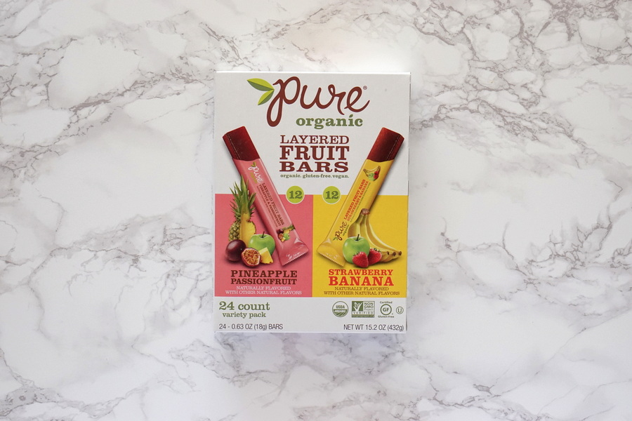 Costco Pure Organic Fruit Bars