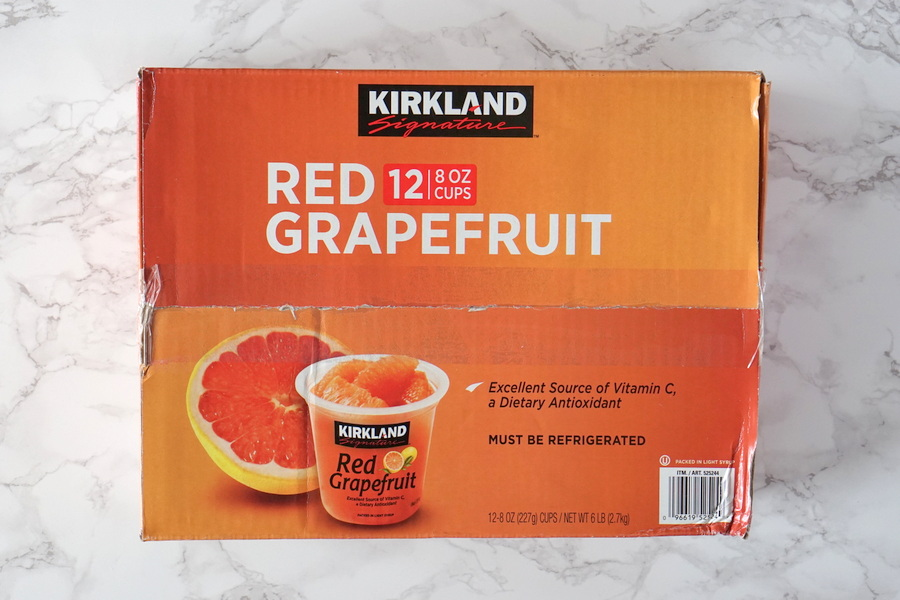 Costco Red Grapefruit Cups