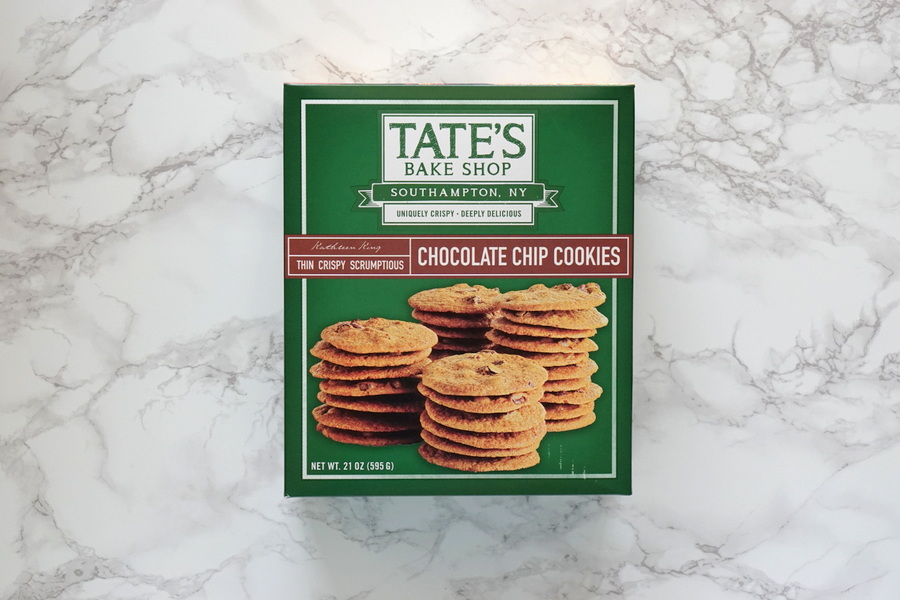 Costco Tate's Crispy Chocolate Chip Cookies