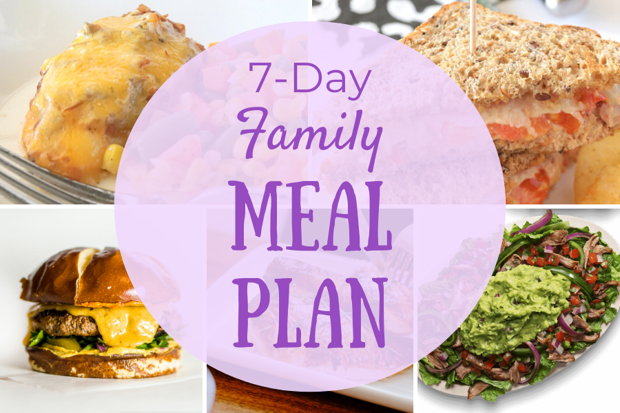 Simple 7 Day Family Meal Plan 2