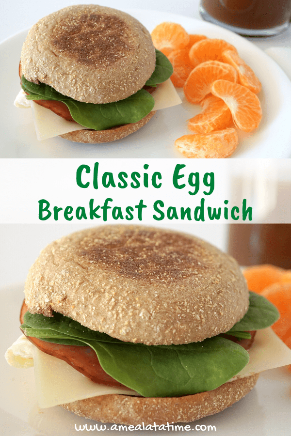 Classic Egg Breakfast Sandwich