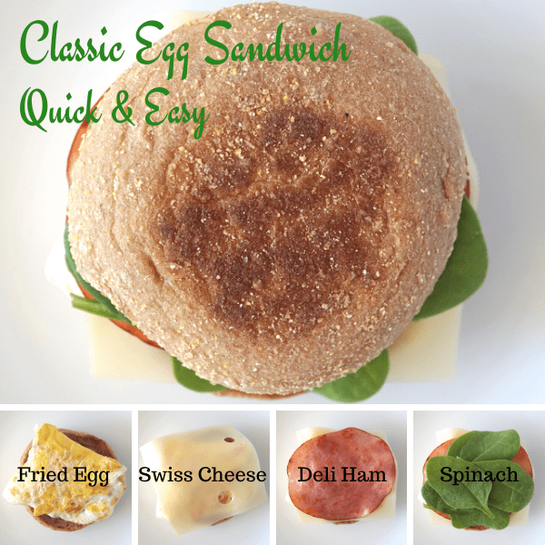 Quick and Easy Classic Egg Sandwich Prep
