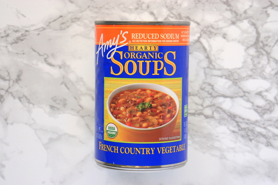 Amys Organic Reduced Sodium French Country Vegetable Soup