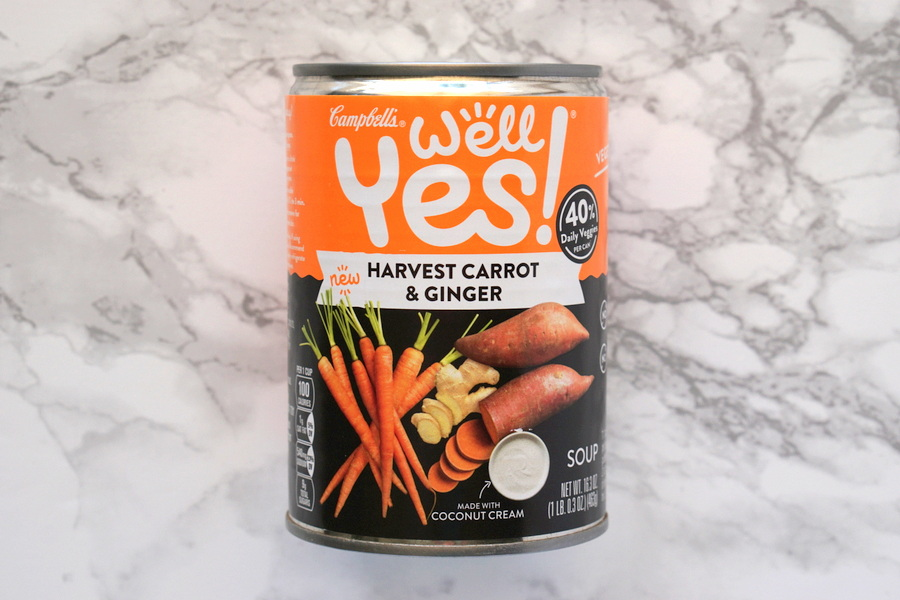 Campbells Well Yes Carrot and Ginger Soup