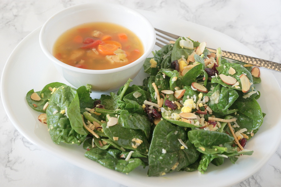 Soup and Salad Meal